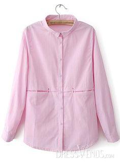 US$20.99 Best Pure Color Lapel Long Sleeves Linen Blouse. #Blouses #Lapel #Best #Linen