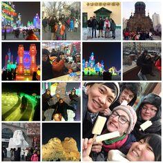 东北 (Dong Bei) part I After our final examinations we went to discover the northern part of China. Our first stop was the #Ice City of #Harbin!