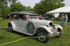 Vintage Collection of Old Classic Cars  1920 Marmon Speedster