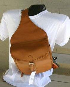 Concealed carry saddle bag