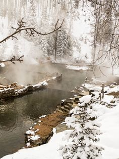 Strawberry Hot Springs, Colorado