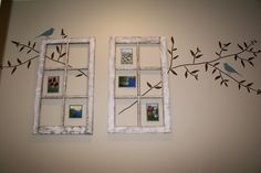 Ava Blake Creations: Vintage Windows And How To Decorate Them! With the old church windows