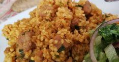 Mennyei Bulguros hús (rizses hús helyett) 😉 recept! A rizses hús mintájára csak durumbúzával. Szerintem így sokkal finomabb. Atkins Diet, Winter Food, Light Recipes, Fried Rice, Quinoa, Food And Drink, Cooking, Healthy, Ethnic Recipes