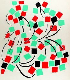Sonia Delaunay (Russia, 1885-France, 1979): Pochoirs, an etching, a lithograph, and two serigraphs
