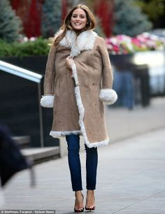Olivia Palermo in Manhattan.