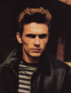 James Dean look-a-like. Mmm mm mmm