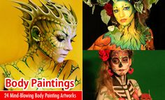 24 Mind-Blowing Body Painting Artworks from World Body Painting Festival. Read full article: http://webneel.com/webneel/blog/24-beautiful-creative-body-painting-art-works-your-inspiration   more http://webneel.com/body-painting   Follow us www.pinterest.com/webneel