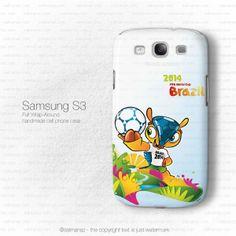 Fuleco the Armadillo Fifa World Cup 2014 Brazil Mascot Galaxy S3 i9300 Case SALMANAZ.com