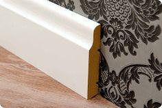 Listwy przypodłogowe Decorative Boxes, Diy, Home Decor, Decoration Home, Bricolage, Room Decor, Do It Yourself, Home Interior Design, Homemade