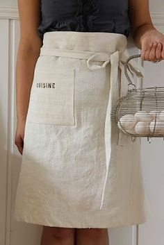 Now here is an apron or great skirt!