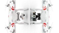 Good comparison between the DJI Phantom 2 Vision+ and the regular Phantom 2 with a GoPro. Dji Phantom 2, Phantom Vision, Drone Photography, Drones, Videography, Gopro, Wifi, 3d