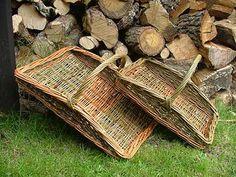 Flower basket  Norfolk Basket Co