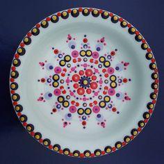 #handmadebyme #dotpainting #ceramics #keramiek #stippen #stippels #stipjes #servies #vanlidy