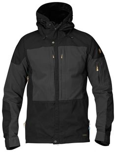 Well-ventilated outdoor jacket for long mountain treks in varying terrain, when freedom of movement is just as important as durability, protection from sharp stones, etc. Combines wind and water resistant Eco made from recycled polyester and organi Nike Jacket, Rain Jacket, Fashion Walk, Outdoor Outfit, Motorcycle Jacket, Windbreaker, Raincoat, How To Wear, Clothes