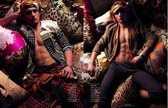 Vladimir Ivanov for Vogue Hommes - MM Scene : Male Model Portfolios : Male Models Online