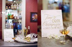 Wedding Invitation. Stylized Engagement Dinner: Durango, CO