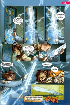 Caleb and Elyon - Two Destinies/Read Issue | W.I.T.C.H. Wiki ...