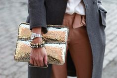love the clutch! so glam