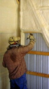 Use Spray Insulation in Your Pole Barn … Who Knew!