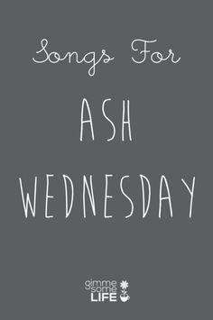 Songs For Ash Wednesday | gimmesomelife.com
