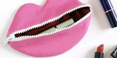 DIY lippen make-up tasje | Fashionlab