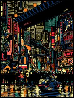 Raid 71 - Urban Sprawl - Judge Dredd Official Print for Vice Press Regular