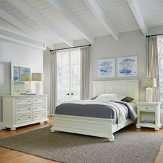 online shopping for Dover White Queen Bed; Night Stand & Chest Home Styles from top store. See new offer for Dover White Queen Bed; Night Stand & Chest Home Styles White Bedroom Set, Bedroom Sets, Bedroom Decor, Bedroom Drawers, Ikea Bedroom, Bedroom Lighting, Girls Bedroom, Bedding Sets, White Nightstand