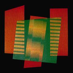 Carlos Cruz-Diez  'Additive Color' (Exacta)  Serigraph,