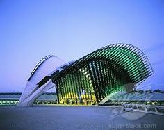 Lyon - Satolas Airport   Santiago Calatrava