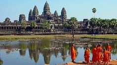 22 spectacular places around the world   Angkor Wat Siem Reap, Cambodia