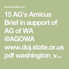15 AG's Amicus Brief in support of AG of WA @AGOWA www.doj.state.or.us pdf washington_v_trump_ca9_multistate_amicus.pdf