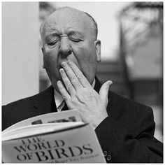 """READ THE BOOK - Alfred Hitchcock (director of """"The Birds"""") reads """"The World of Birds"""""""
