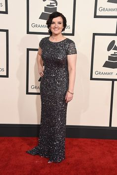 57th GRAMMYs Red Carpet (2 Of 2) - Brandy Clark - Current GRAMMY nominee Brandy Clark arrives at the 57th Annual GRAMMY Awards on Feb. 8 in Los Angeles