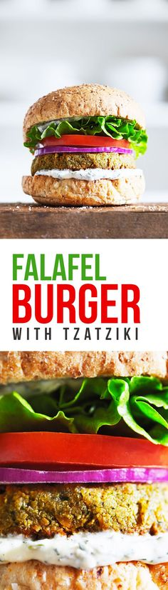 falafel burgers that are perfect for satisfying your veggie burger ...