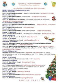 A Toscolano Maderno sono tanti gli appuntamenti in programma nei mesi di dicembre 2015 e gennaio 2016, ecco il Calendario delle manifestazioni! @gardaconcierge