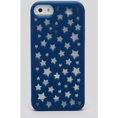 kate spade new york iPhone 5/5s Case - Silicone Cut Out Stars (96 BRL) ❤ liked on Polyvore featuring accessories, tech accessories and kate spade