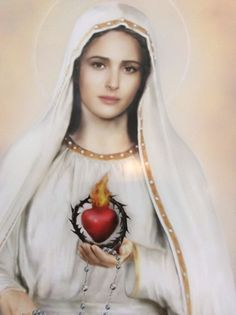 """ol of lourdes """"the lady was dressed in white, with a white veil on"""