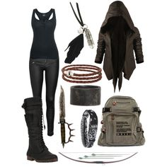 Octavia Blake: The Grounders do not give up, they f - Steampunk kleider - Modetrends Zombie Apocalypse Outfit, Apocalypse Fashion, Apocalypse Survival, Fashion Tips For Women, Trendy Fashion, Womens Fashion, Fashion Trends, Fashion Ideas, Badass Women Fashion