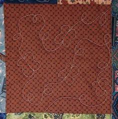 stipple quilt pattern - butterflies