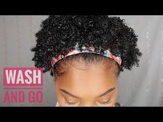 Wash N Go Series Pt 3: Cantu Beauty - YouTube