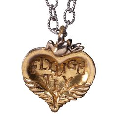 For the daring and   the delicate--together. For fun and adventure. Or for you. Fly Lightly! Gold plated finish.