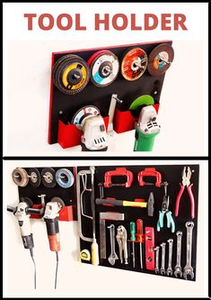 In this video i make a tool organization board to store my tools. In this tool organization board i have used basic and regular tools that i have used in daily purpose for my workshop. I hope you like this video. Tool Organization, Tool Storage, Diy Tools, Purpose, Workshop, Garage, Store, Board, How To Make