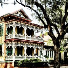 The Gingerbread House in Savannah