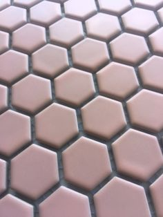 AQ Hexagon Mosaic Porcelain Pink