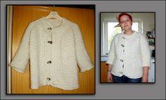 Vikinge nørderier: Nålebinding: sweater by Lykke