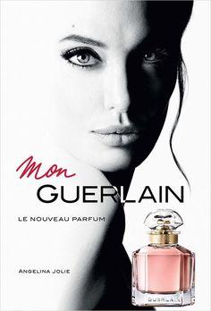 Angelina Jolie Is the Face of Guerlain Mon Guerlain Fragrance 2017