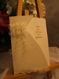 Cute idea--maybe just rhinestones, not the ribbon.