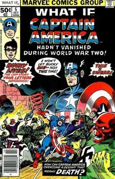 What If? #5 - What if...Captain America and Bucky Had Both Survived World War II? (Issue)