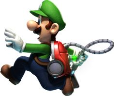 luigis mansion dark moon luigi - Google Search