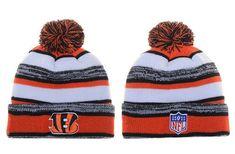 Cincinnati Bengals Winter Outdoor Sports Warm Knit Beanie Hat Pom Pom Knit  Beanie Hat 77dd38e0756
